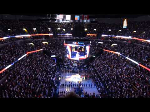 Memphis Grizzlies National Anthem Playoff Edition 2013
