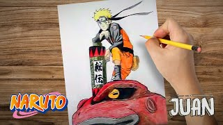 Drawing And Coloring Naruto Shippuden #3 By Jardc87