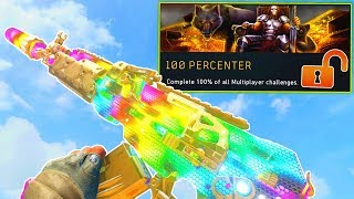 NUKED OUT UNLOCKS 100% MULTIPLAYER COMPLETION.. (100 PERCENTER CHALLENGE!) - COD BO4
