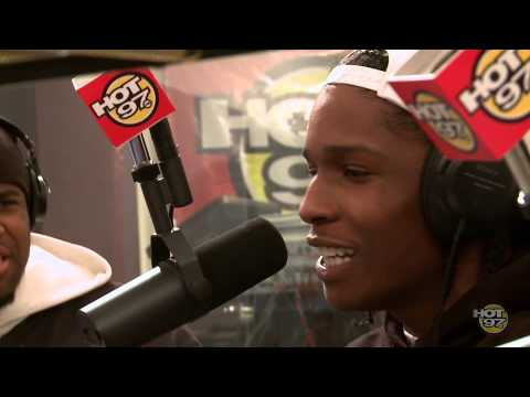 ASAP Rocky & ASAP Mob Freestyle With Funkmaster Flex!