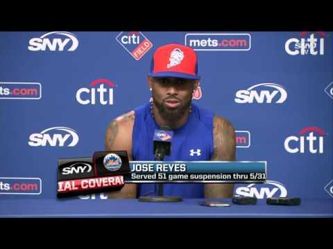 Jose Reyes makes his Mets return at Citi Field