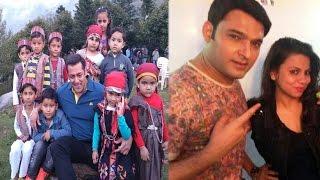 Salman Khan's Love For Kids | Kapil Sharma's Rumoured Girlfriend Supports Him