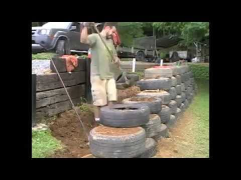 How To Build A  Foot Tall Retaining Wall