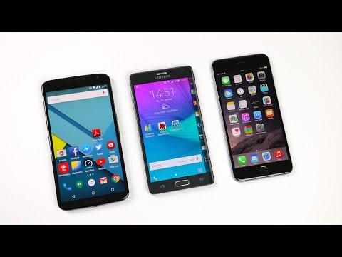 Google Nexus 6 vs Samsung Galaxy Note Edge vs Apple iPhone 6 Plus: Benchmark | SwagTab