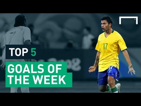 Top 5 amazing goals in Brazil - Seedorf, Rafael Sobis