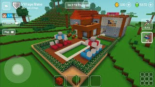 Block Craft 3D : Building Simulator Games For Free Gameplay#335 (iOS & Android)   Villa