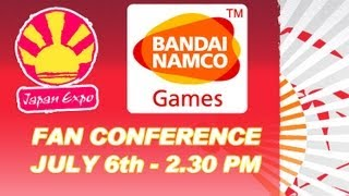 NAMCO BANDAI GAMES Fan Conference - Japan Expo 2012