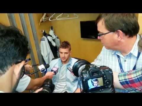 Dallas Mavericks Chandler Parsons and Brandan Wright Talk New Team