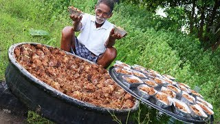 Shahi Tukda Dessert | Double ka meetha cooking By Our Grandpa Donating to Orphans | Grandpa Kitchen