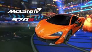 Rocket League   McLaren 570S Car Pack Official Trailer   The Game Awards 2018