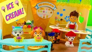 Best Learning Colors Video for Children Paw Patrol Ice Cream Playground | Fizzy Fun Toys