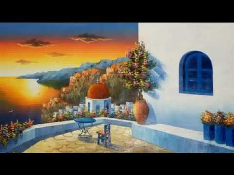 Paintings Of The Greek Islands