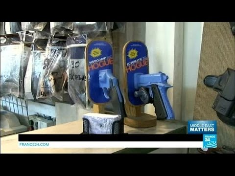 Israel: Business is booming in gun shops