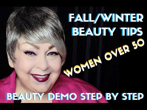 BEAUTY TRANSFORMATION- FALL/WINTER BEAUTY FOR WOMEN OVER 50- karma33