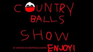 The Countryballs Show Ep.3:IM GOING TO RAPE YUO!!!!