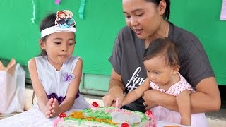 pesta ulang tahun bayi lucu shanti ke 1, first cute baby birthday party