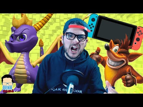 ¿Nintendo Switch pirateada? - Spyro REGRESA en PS4 - ¡Crash multiplataforma! | QN
