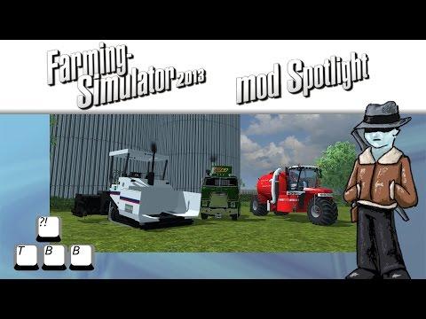 Farming Simulator 2013 Mod Spotlight - Trike Truck