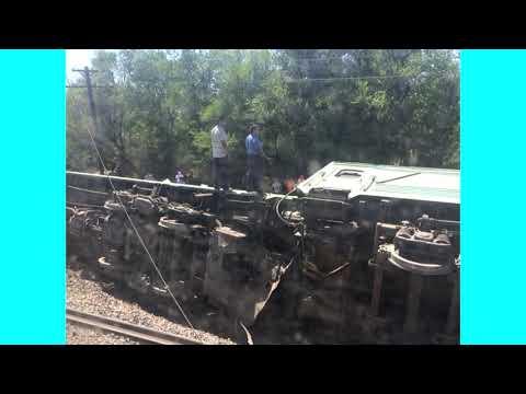 В Казахстане произошла железнодорожная катастрофа в Жамбылской области