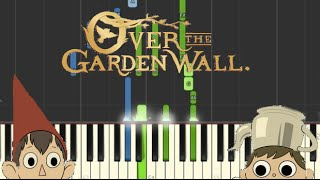 Over the Garden Wall - Main Theme (Synthesia Piano)