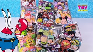 Disney Invader Zim Toy Story Spongebob Keyring Palooza Blind Bag Review | PSToyReviews