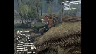 SpinTires 2013 - Ural 43206 pricep