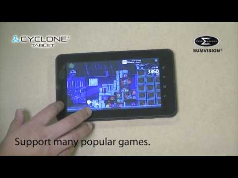 SUMVISION CYCLONE 7 inch Android 2.2 phone+ tablet