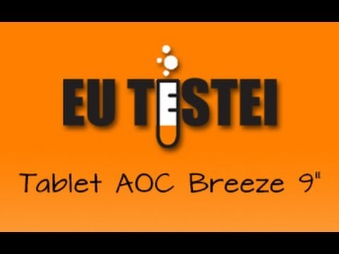 Tablet AOC Breeze 9