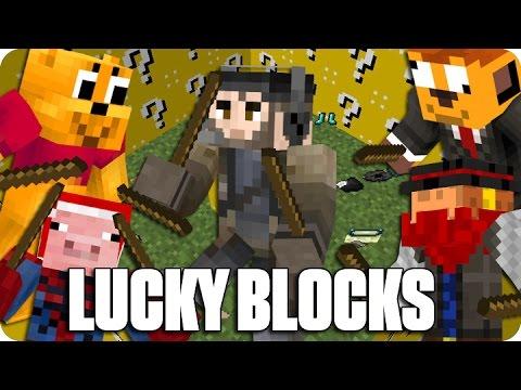 ¡EL PALO TROLL! LUCKY BLOCKS NAVIDAD | Minecraft Con Sara, Luh, Exo Y Macundra