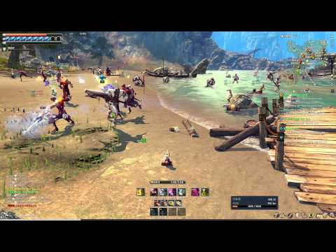 Blade & Soul Online Level 40 Faction PvP and PvE Warzone Gameplay
