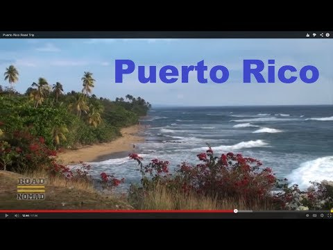 Puerto Rico Road Trip  Full Video