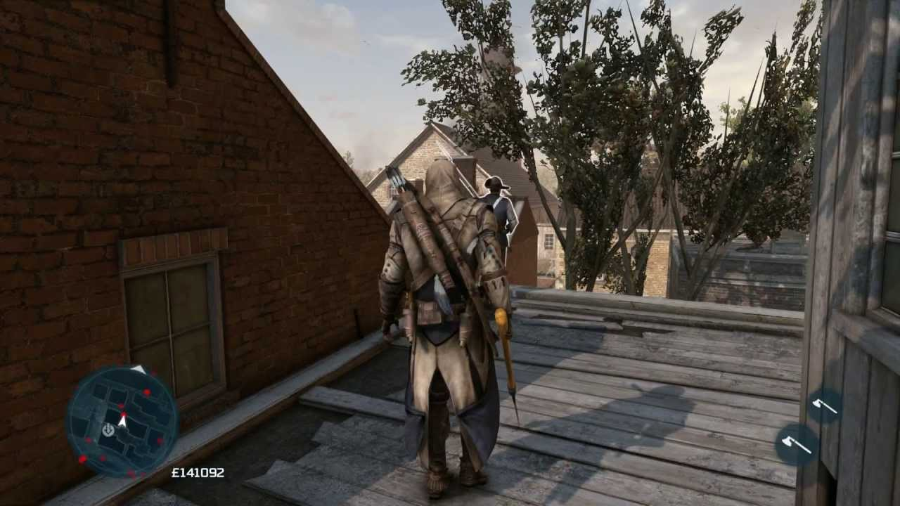 Assassin's Creed 3 How to Remove a Heavy Weapon - YouTube