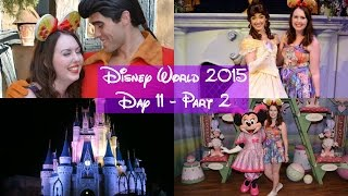 Disney World Vlogs 2015 | Day 11 Part 2