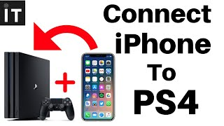 How to Connect iPhone to PS4