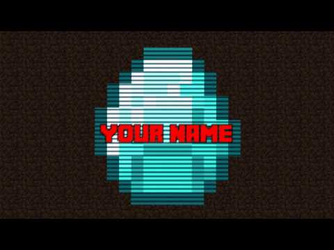 Sony Vegas | Minecraft 2D Intro Template #1 | By FantasyDesigns