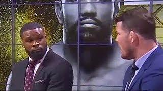 Michael Bisping & Tyron Woodley React to Yoel Romero KO'ing Luke Rockhold at UFC 221