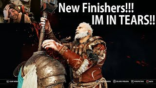 ALL NEW For Honor Finishers!! IM CRYING!! These Are Amazing!!