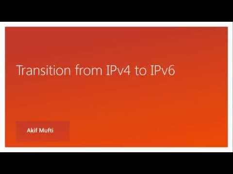 ipv4 to ipv6 transition