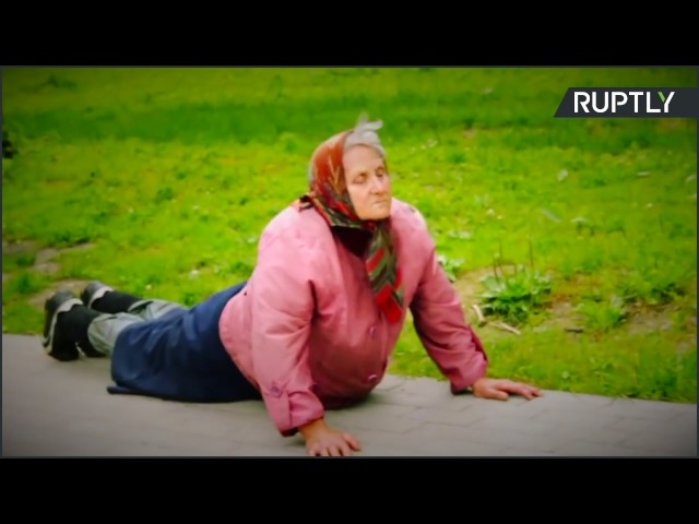 Russia: Try out this 72 y/o babushka's workout