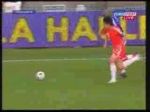 Djibril Cisse's 2nd broken leg (France v China)