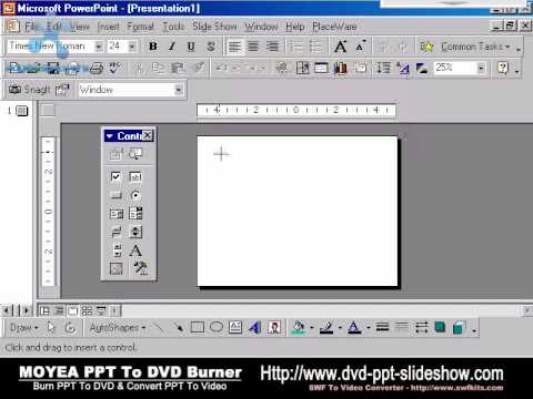 Thumb Como insertar archivos Flash SWF en Power Point 2007 y 2003