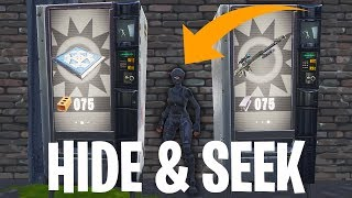 HIDE & SEEK WEDSTRIJD MINI-GAME!  - Fortnite: Battle Royale Playground (Nederlands)