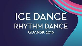Loicia Demougeot / Theo Le Mercier (FRA) | Ice Dance Rhythm Dance | Gdansk 2019