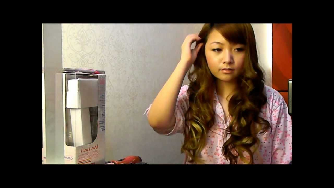 how to make big curls with curler