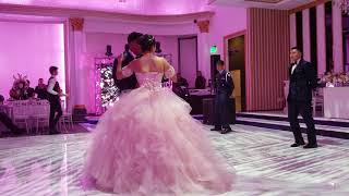 Quinceañera vals ( Christina Perri ) A Thousand Years part#2