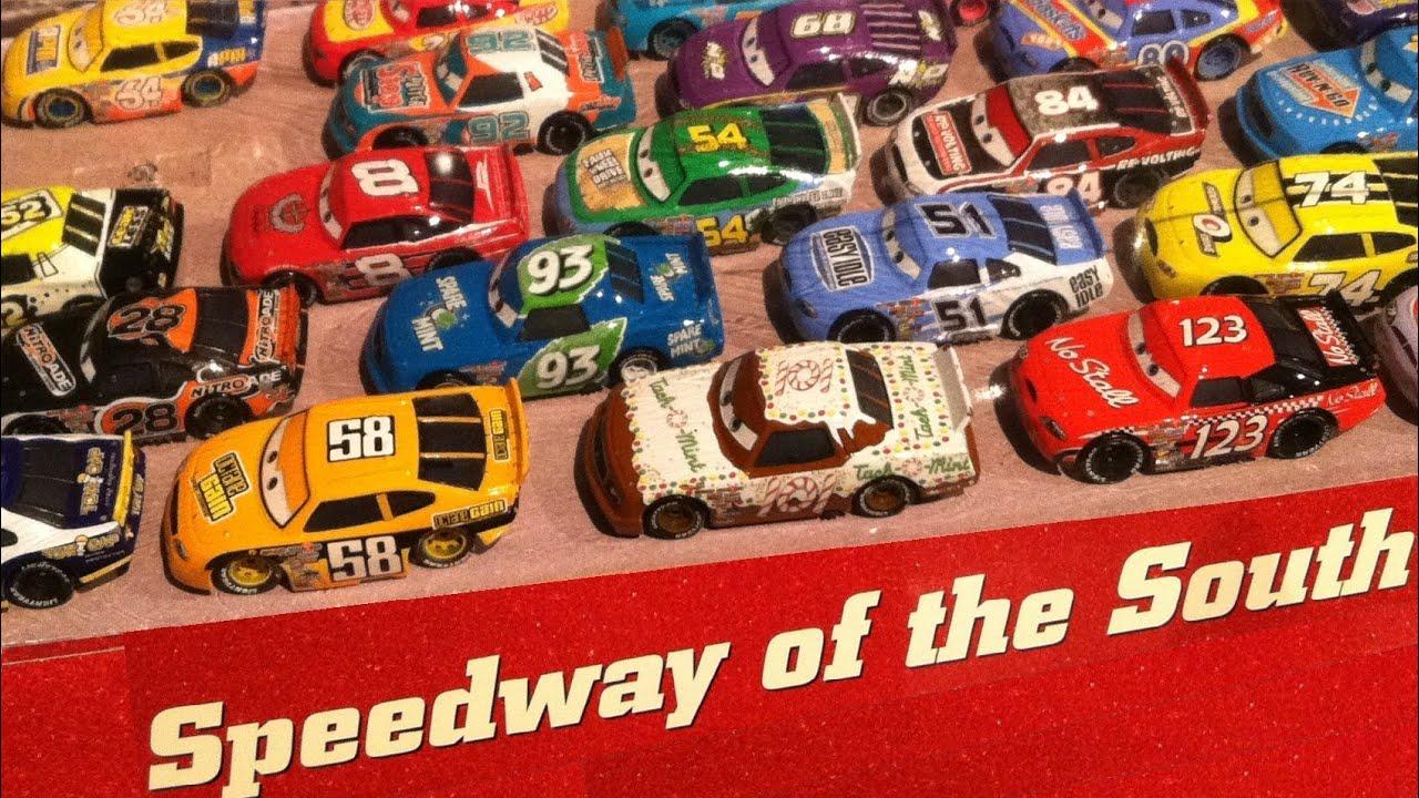 Disney Pixar Cars Piston Cup Racers Car Interior Design