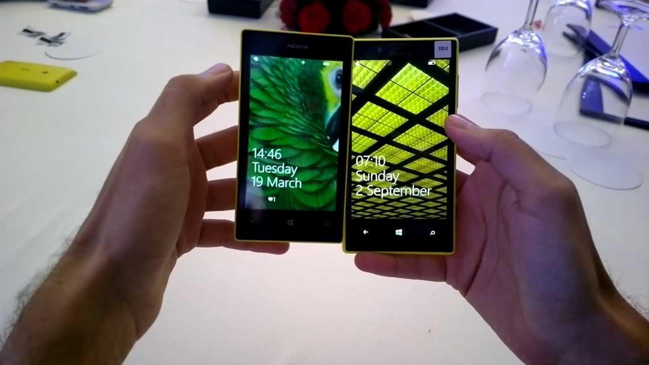 Nokia Lumia 520 Nokia Lumia 520 vs Nokia Lumia