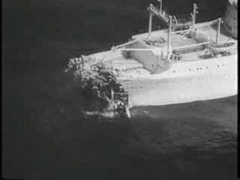 SINKING OF THE ANDRIA DORIA 1957