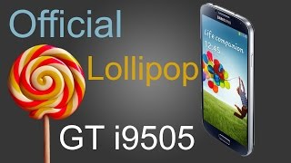 Samsung Galaxy S4 Official Lollipop GT I9505 ROM Install and Quick Review