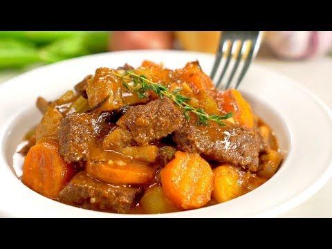 Жаркое из говядины с овощами. Рецепт от Всегда Вкусно!